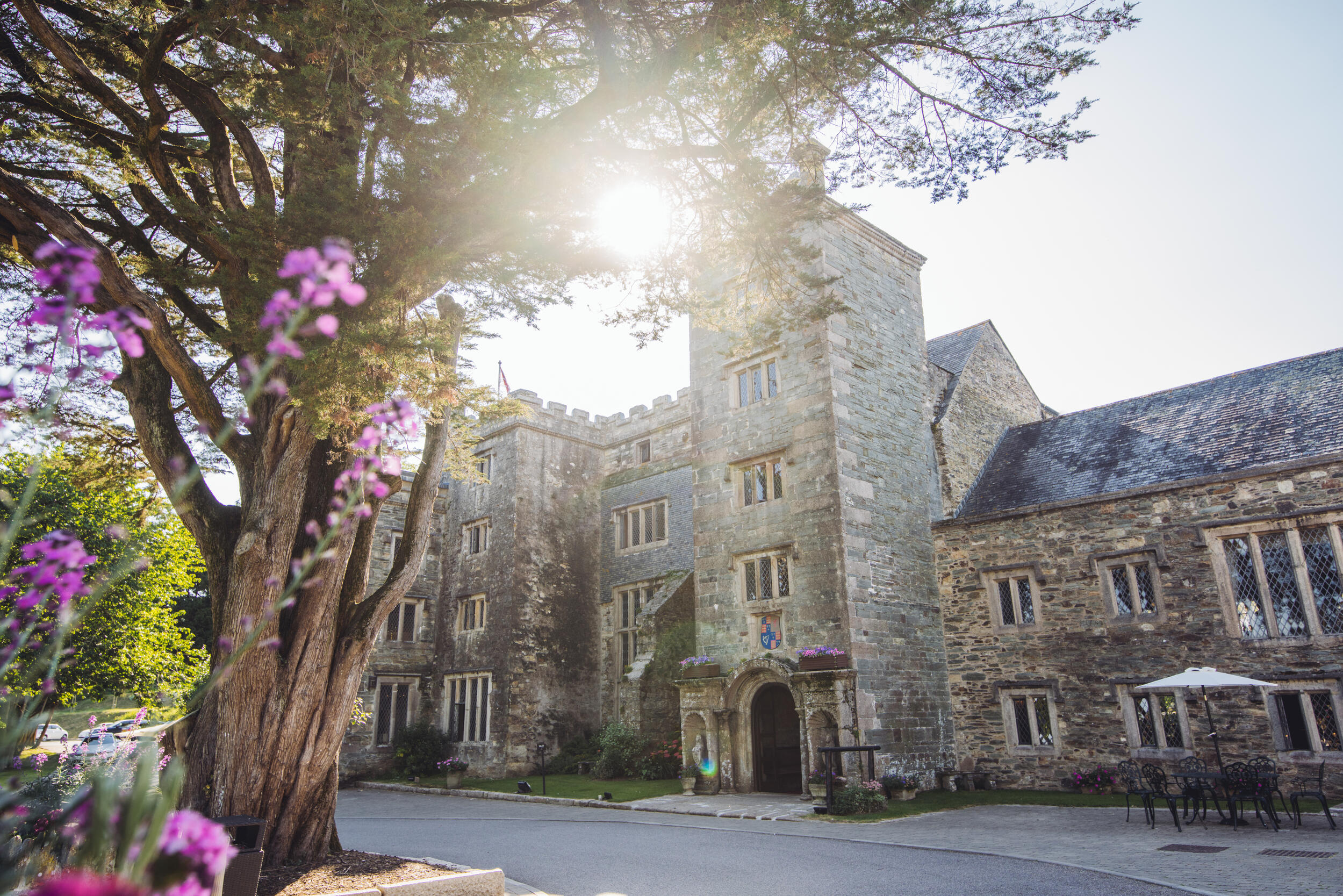 Boringdon Hall Devon entrance