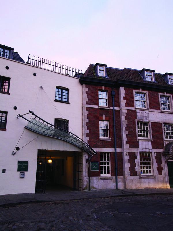 Bristol Hotel Du Vin Entrance