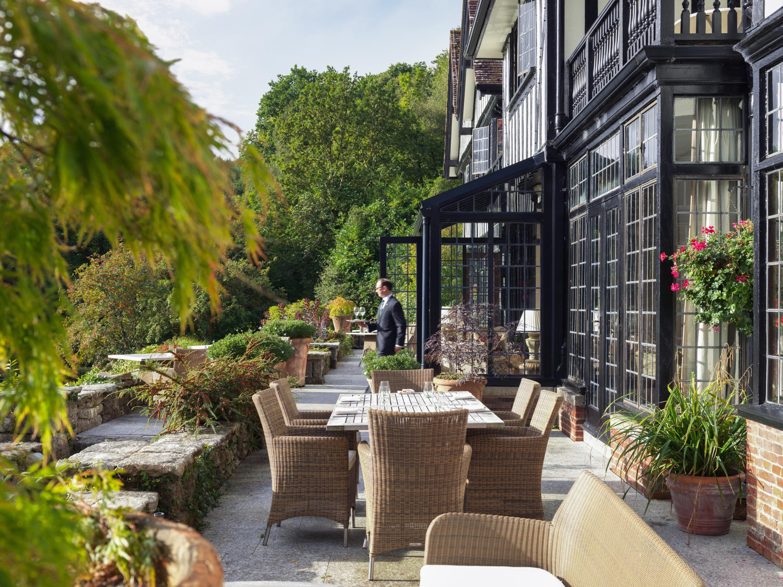 Gidleigh Park Terrace