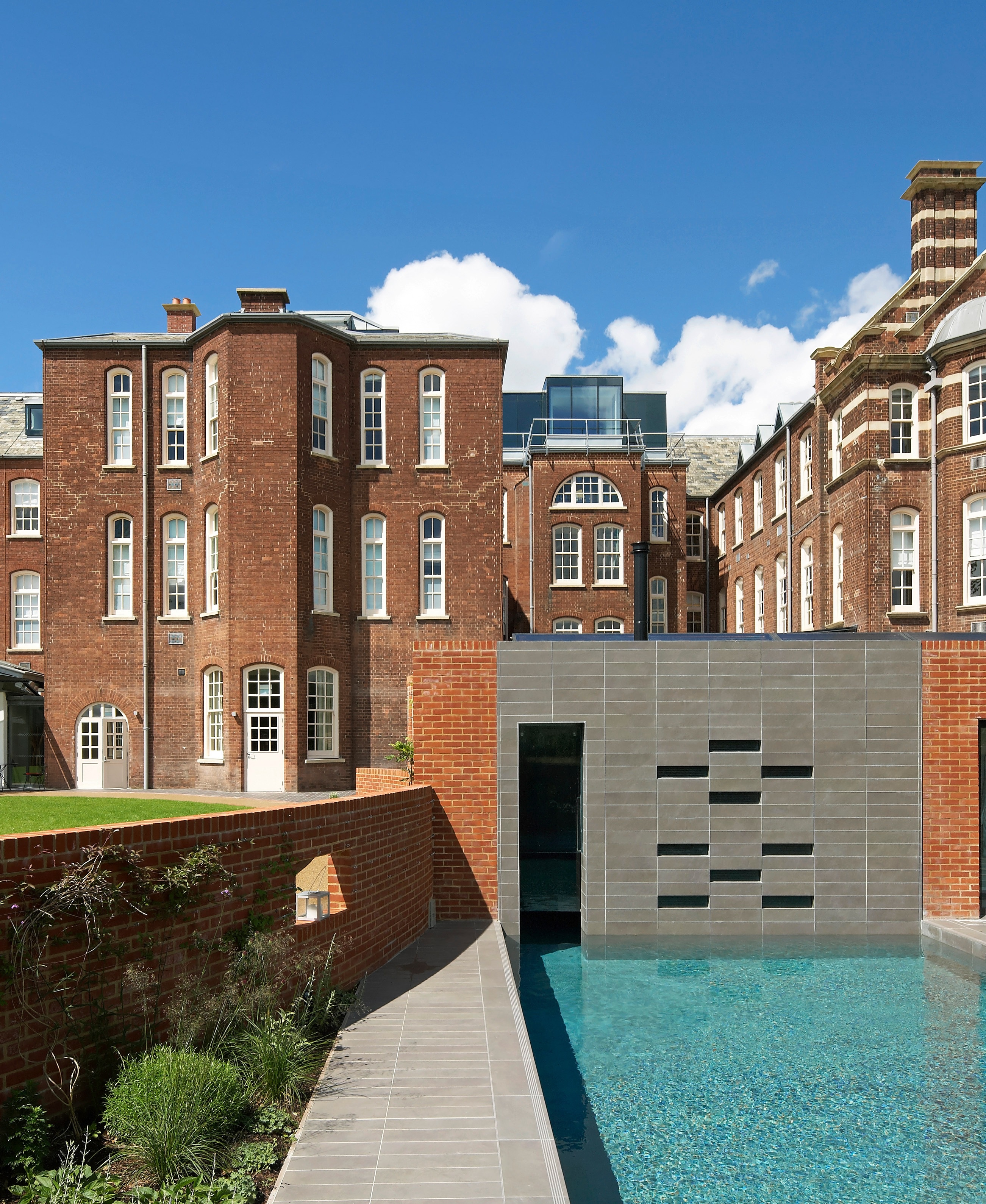Hotel du Vin Exeter View from Pool & Spa