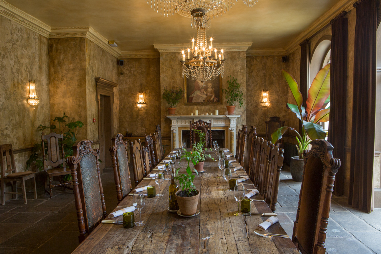 Old Dining Room at The Pig – near Bath
